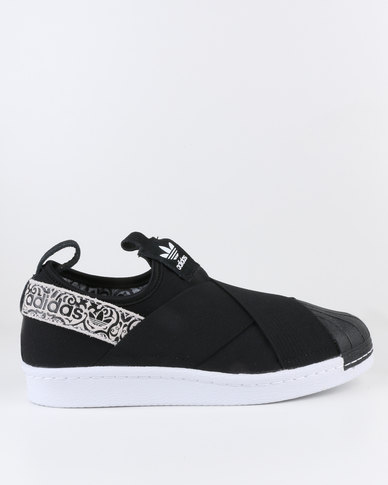 adidas Superstar Slip-on Womens Black/Print