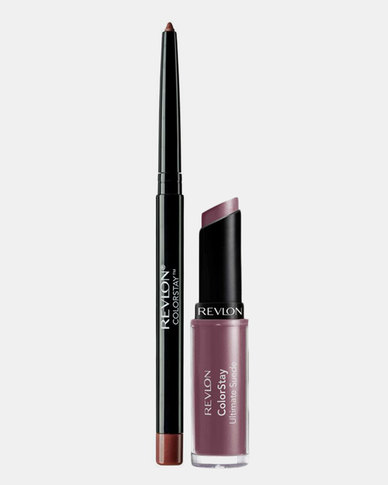 Revlon ColorStay Ultimate Suede Lipcolor and FREE ColorStay Lipliner Lipcolor All Access / Lipliner Chocolates