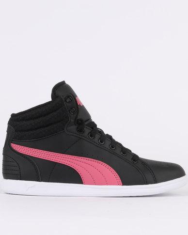 Femmes Ikaz Milieu V2 Chaussures De Sport Bas-top, Noir Puma