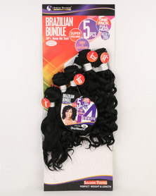 African Splendor Diva Wave 5pcs 14'' Black