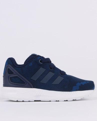 san francisco 5bf94 414ea adidas ZX Flux Sneaker Navy   Zando