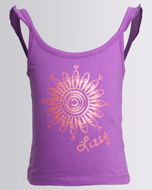 Lizzy Girls Abbigail Tank Top Purple