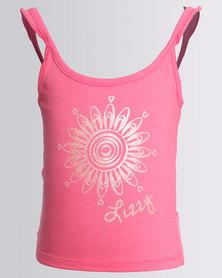 Lizzy Girls Abbigail Tank Top Rose