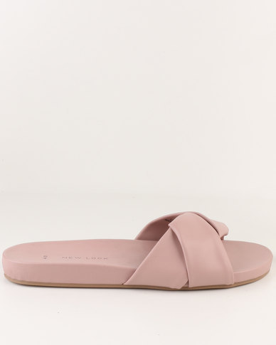 New Look New Look Iriana PU Wrap Mule Pink sale affordable cheap supply classic cheap price YdIyv