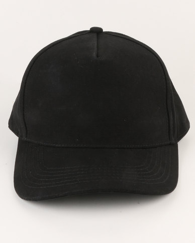 e0e95028cc1 New Look Plain Snapback Cap Black