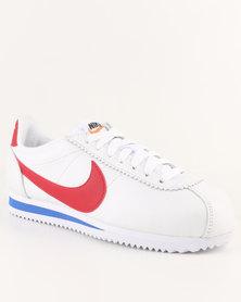 Nike Womens Classic Cortez Premium White