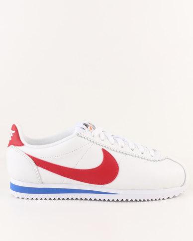 2947d77c7141 Nike Womens Classic Cortez Premium White