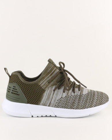 Tom_Tom Tom_Tom Soul Hi Top Sneakers Olive