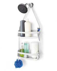 UMBRA Flex Shower Caddy White