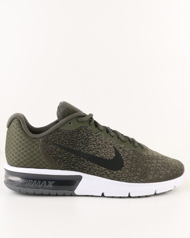 finest selection 42ee7 374bd Nike Performance Air Max Sequent 2 Khaki  Zando
