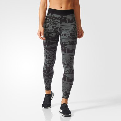 Sport ID Allover Print Tights