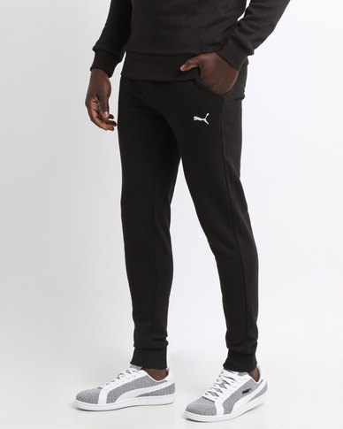 42d669a1ece9 Puma Essential Sweat Pants Slim TR-cl Black