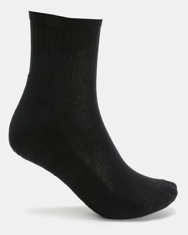 Utopia Unisex Socks Black