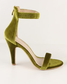Miss Black Miss Black Heron High Heel Sandal Olive discount codes clearance store outlet free shipping authentic outlet store online sale wholesale price IGrrrfx3
