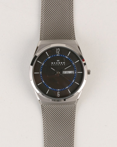 Skagen Melbye Stainless Steel Watch Silver