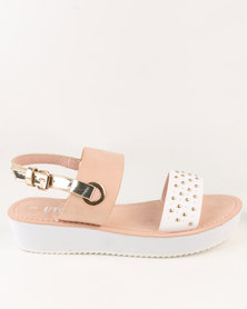 Utopia Detailed Sandal Nude