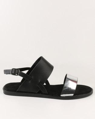 09fdab3f0 Utopia Flat Sandal Silver