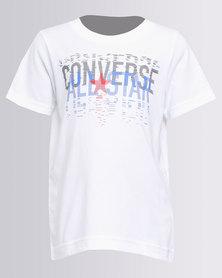 3efbd0fd7dd1 Converse Linear All Star Tee White