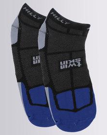 Hilly TwinSkin Socklet Black