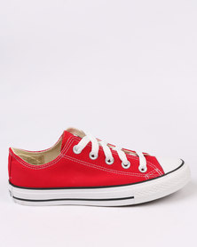 Soviet Viper Casual Low Cut Lace Up Canvas Shoe Red