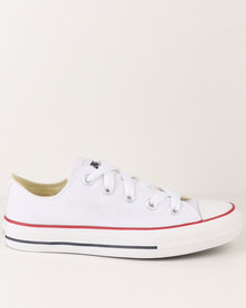 Soviet Viper Casual Low Cut Lace Up Canvas Shoe White