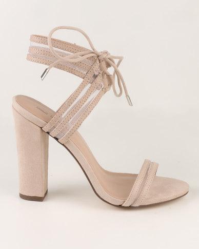 Call It Spring Astoressi Heeled Sandals Bone