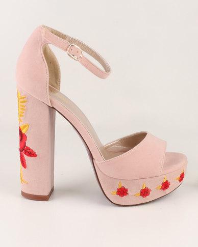 4a68f48ad28a Plum Tingle Platform Sandals Dusty Pink