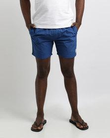 Crosshatch Brekkon Shorts Monaco Blue