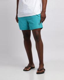 Smith & Jones Antinode Swim Shorts Tile Blue