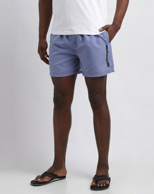 Born Rich Benzema Swimming Shorts Blue Ice