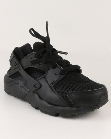 huge selection of 9a242 45628 Nike Huarache Run PS Sneakers Black