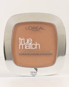 L'Oréal True Match Powder Golden Cappuccino 8D