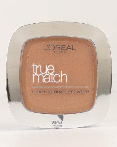 True Match Powder Golden Capuccino 8D