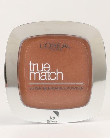 True Match Powder Golden Deep Neutral 9N