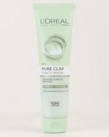 L'Oréal Extraordinary Clay Cream Wash 150ml Purity