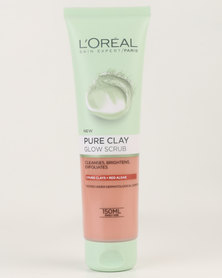 L'Oréal Extraordinary Clay Scrub Wash 150ml Glow