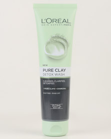 L'Oréal Extraordinary Clay Gel Wash 150ml Detox