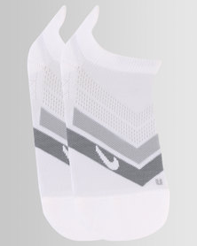 Nike Performance U Cushion No Show Run White