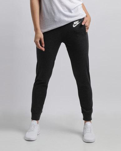 Nike Womens NSW Gym CLC Pants Black