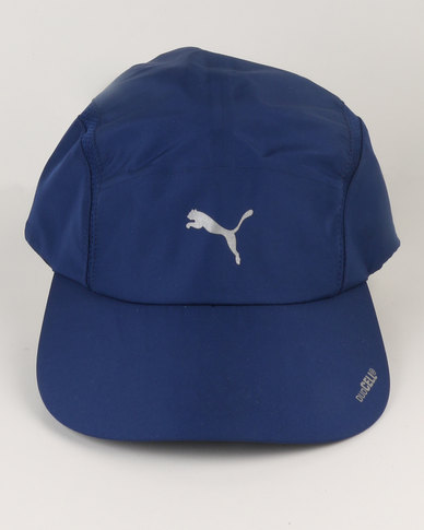 Puma Performance duoCELL Tech Running Cap Blue  ab57e63f00b
