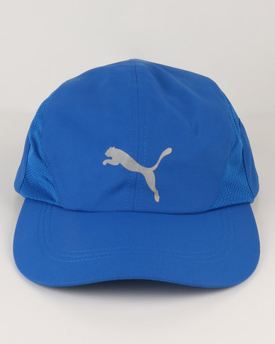 aad32c93af2 Puma Performance Pure Running Cap Blue