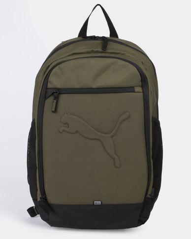 Puma Buzz Backpack Olive  91097a1079cd3