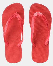 Havaianas Top Basic Flip Flops Ruby Red