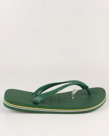 Havaianas Brazil Flip Flops Amazonia Green