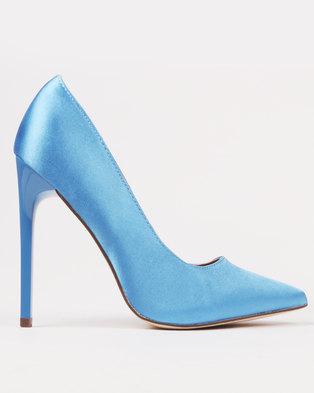 Chantel Mauve Suede Lace Up Heels