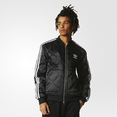 adidas quilted jacket. sst quilted jacket adidas d