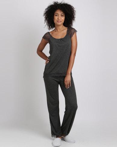 Women'secret Fun Pajamas Dark Melange