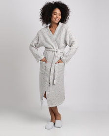 Women'secret Robe Grey