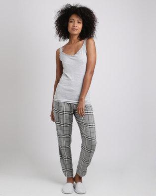 532e8db43d Women secret Feminine Pajamas 2 Grey