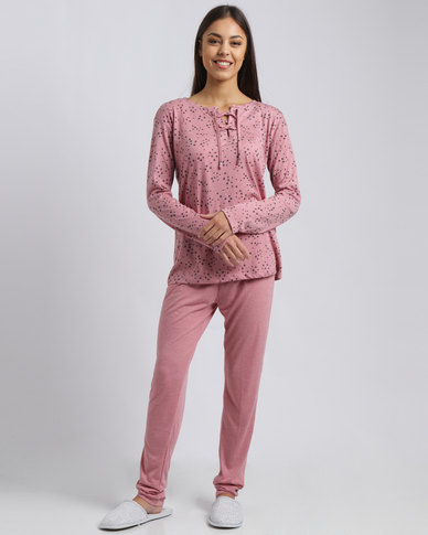 Women'secret Feminine Pajamas Pink